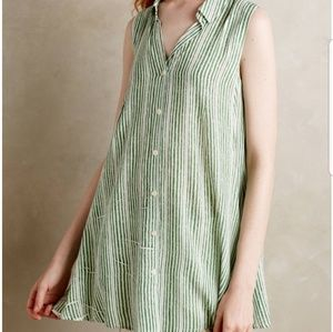 Tyhlo Percy Tunic in Green Stripe